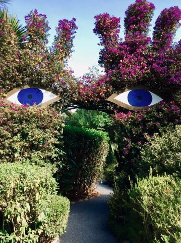 Im Anima-Park von André Heller bei Marrakesch