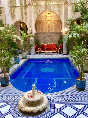 Das Riad Salam in Fez