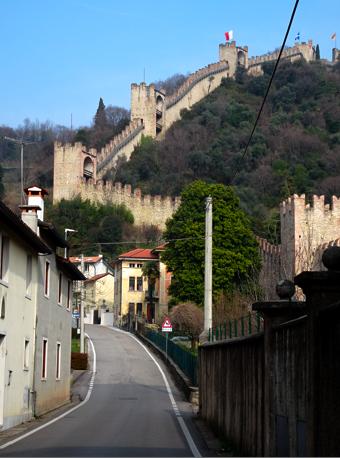 Alte Stadtmauer von Marostica