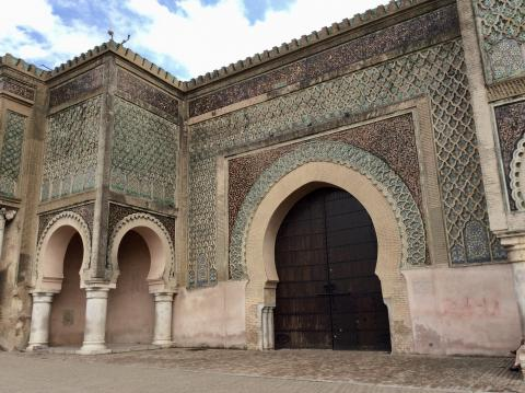Bab Mansour In Meknes