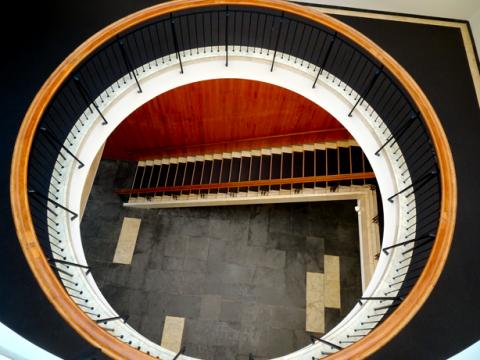 Treppenhaus vom Amerikahaus München