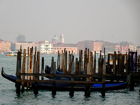 Venedig Blick gen San Marco