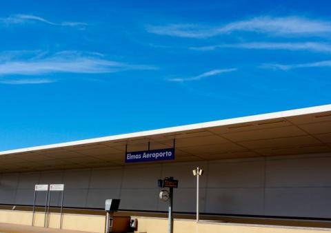 Bahnhof in Cagliari