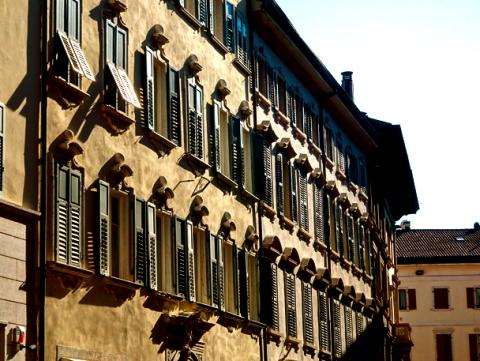 In der Altstadt von Trient