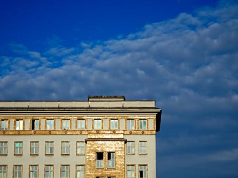 Wohnhaus an der Karl Marx Allee