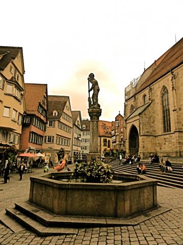 Altstadt Tübingen.