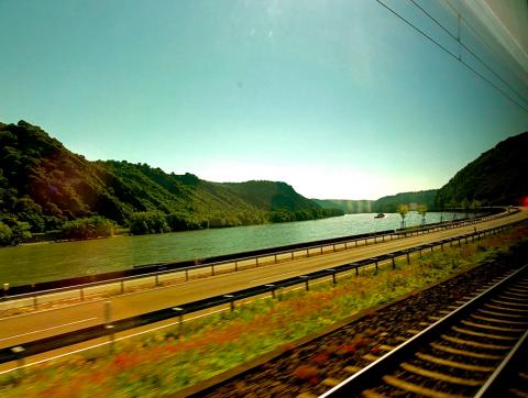 Rheintal Zugstrecke