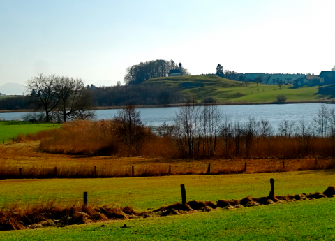 Egglbureger See bei Ebersberg