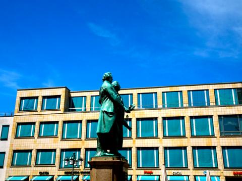 Weimarer Klassik - Goethe und Schiller Denkmal