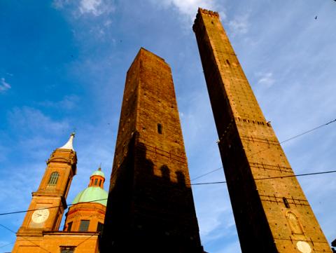 Die zwei Türme von Bologna