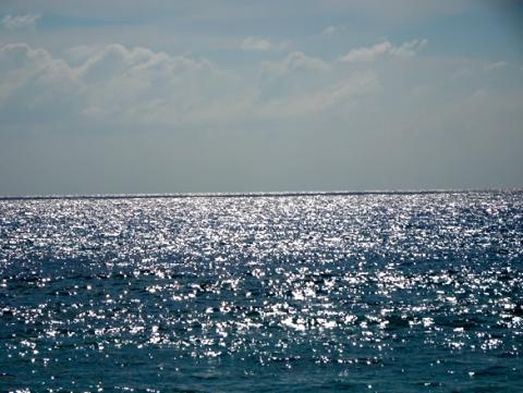 Ausblick vom Anse Takamaka