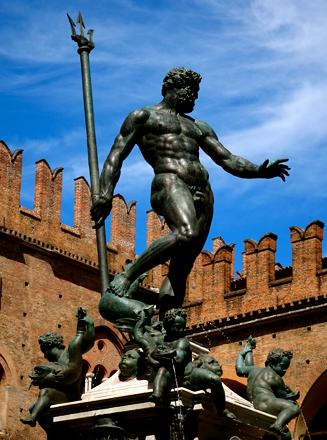 Neptunstatue am Piazza Maggiore