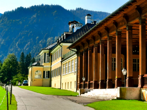 Das Gebäude der früheren CSU-Klausurtagungen in Wildbad Kreuth