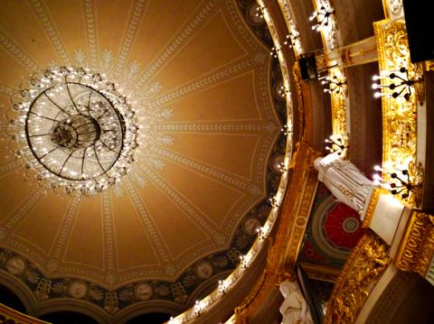Decke vom Nationaltheater der Bayerischen Staatsoper