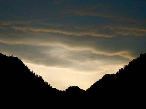 Schliersee Bergkette