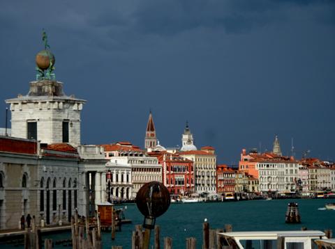 Die Punta della Dogana in Venedig