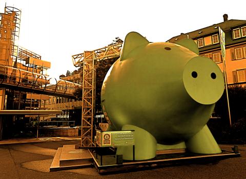 Ludwigsburg - größtes Sparschwein der Welt