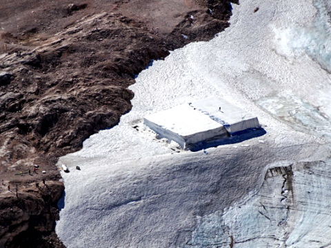 Zugspitze Gletscher