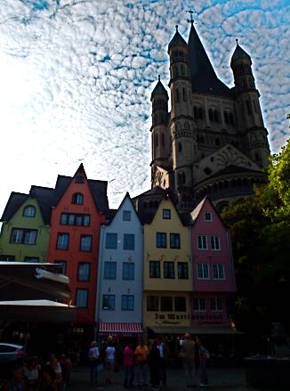 Kölle Altstadt Rheinufer