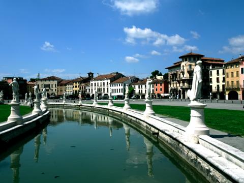 Der Prato della Valle in Padua