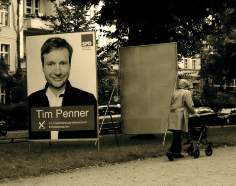 Wahlkampf Willmersdorf