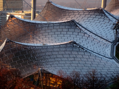 Dach vom Olympiastadion