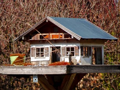 Vogelhäuschen in Mühlbach an der Guflmühle