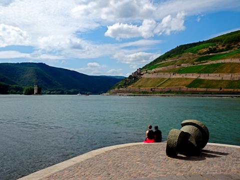 Rhein-Nahe-Eck am Binger Loch
