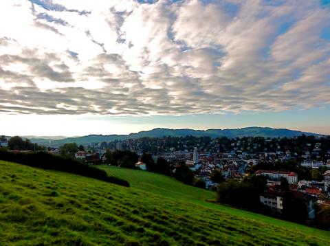 St. Gallen vom Dreiweiher