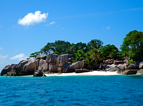 Coco Island bei La Digue