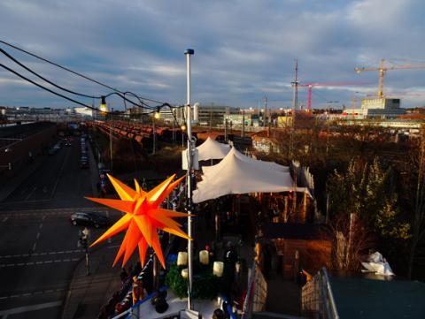 Weihnachtsmarkt auf der Alten Utting