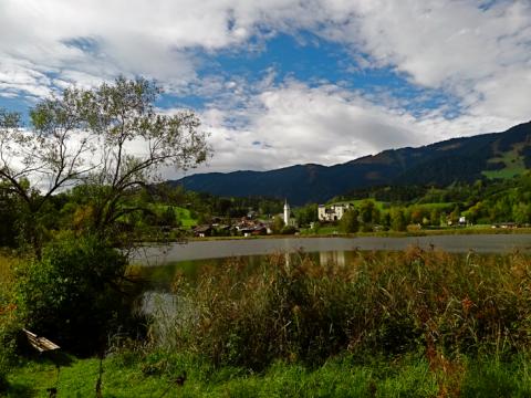 Blick auf Schloss Goldegg