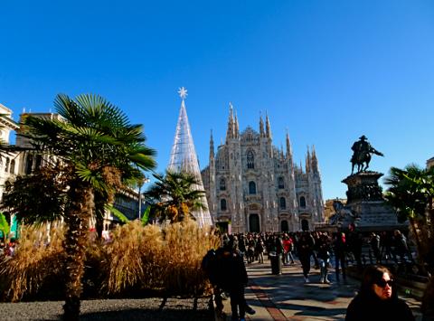 Der Domplatz in Mailand