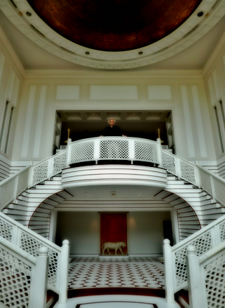 Frank Klötgen im Taj Mahal Palace