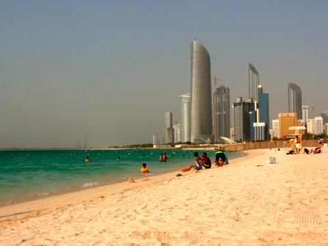 Abu Dhabi Stadtstrand