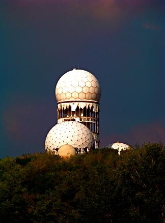 Abhörstation auf dem Teufelsberg