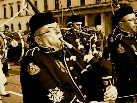 St. Patrick's Day Umzug München
