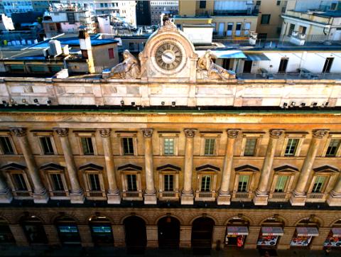 Auf dem Dach vom Dom in Mailand
