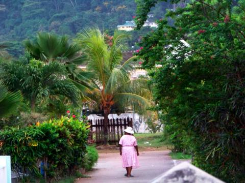 Bei Victoria Seychellen