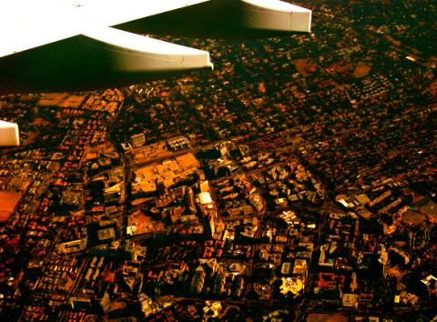 Landeanflug Johannesburg