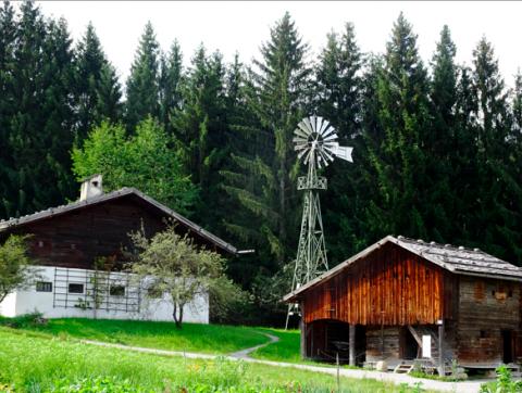 Höfe im Freilichtmuseum Glentleiten