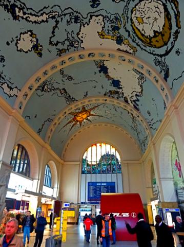 Luxemburger Bahnhofshimmel