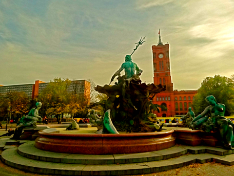 Der Berliner Neptunbrunnen