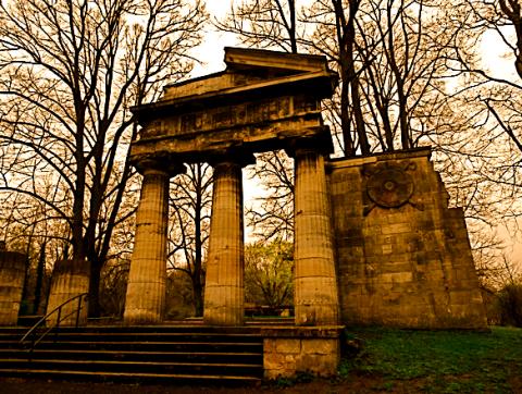 Krahescher Portikus im Braunschweiger Bürgerpark