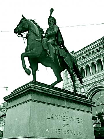 Denkmal Ernst August von Hannover