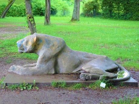 Statue am Ammerseeufer bei Herrsching
