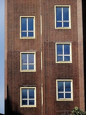 Fassade vom Haus der Technik in Essen