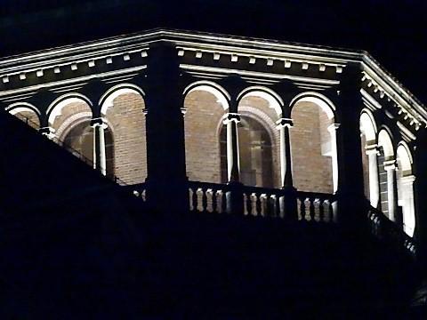 St. Ursula in Schwabing bei Nacht
