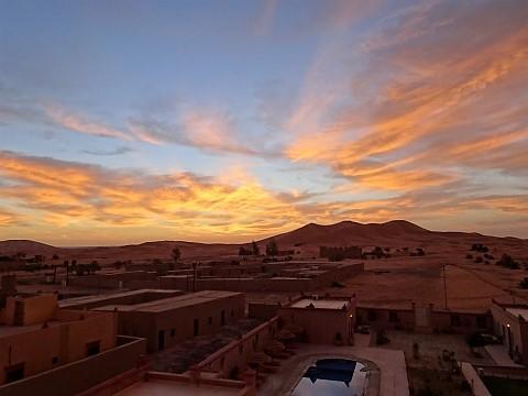 Sahara Dünen bei Erg Chebbi