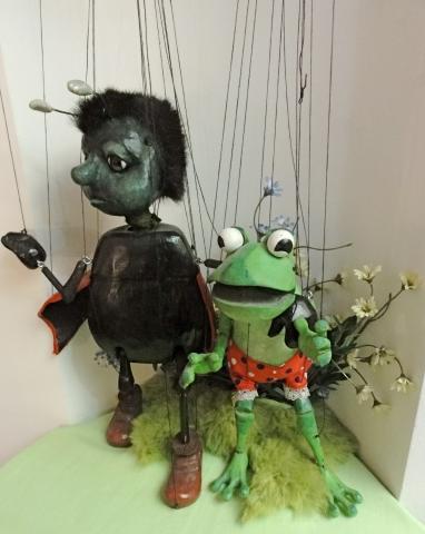 Marionetten aus dem Marionettentheater München